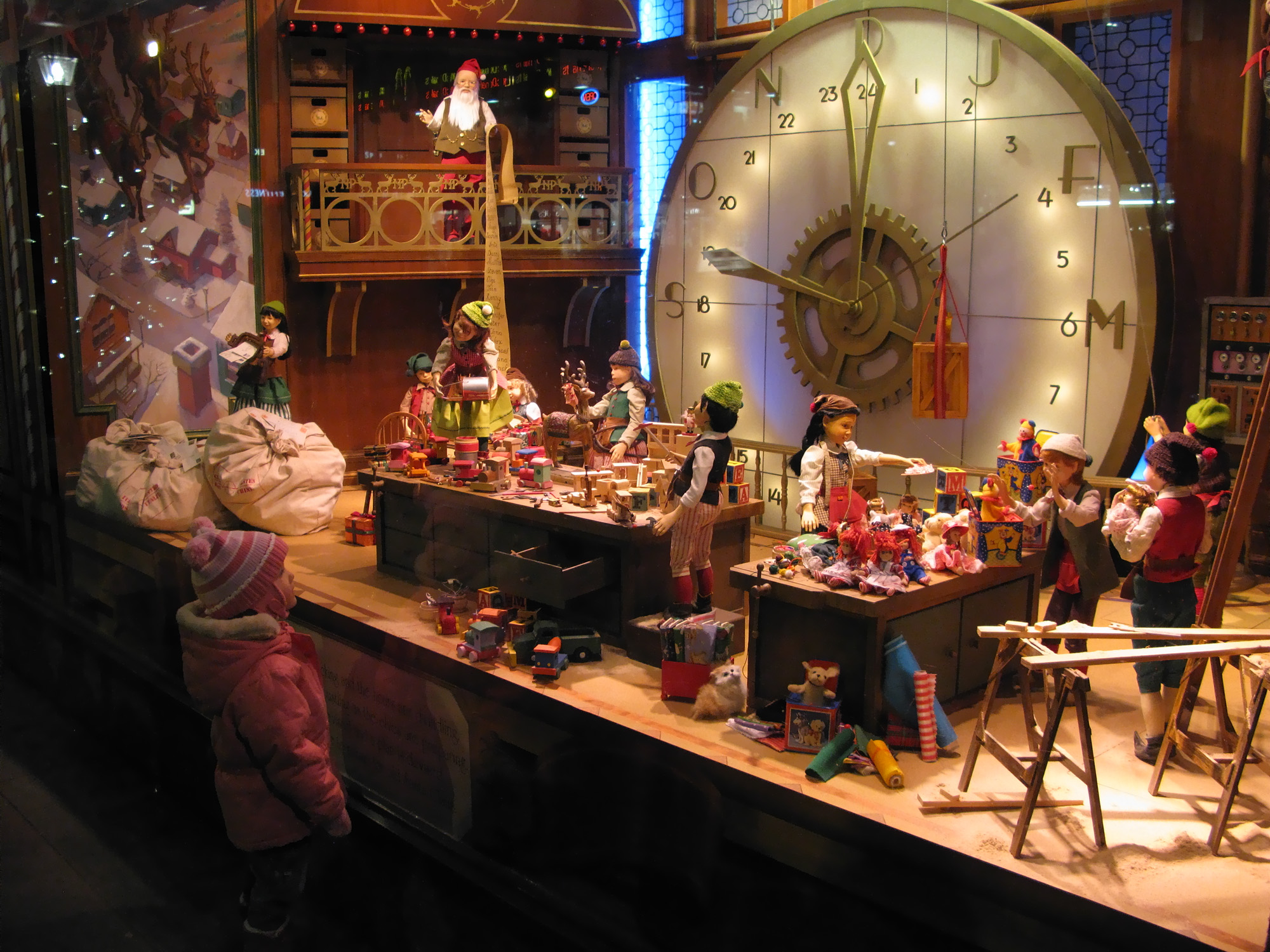 Salt lake city s famous christmas window displays for The christmas shop