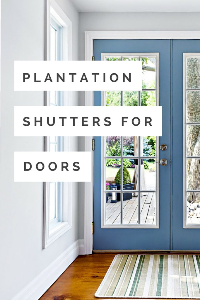 Charmant Plantation Shutters For Doors