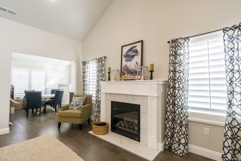 How To Pair Plantation Shutters With Curtains Wasatch