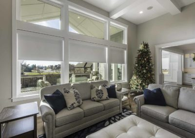 Wasatch Shutter Roller Shades Living Room 2